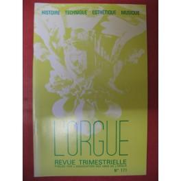 L'ORGUE Revue N° 171 Juillet Septembre 1979