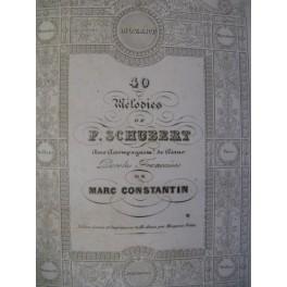 SCHUBERT 40 Mélodies & WEBER Le Freyschutz