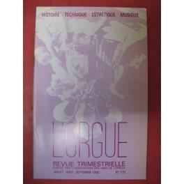 L'ORGUE Revue N° 175 Juillet Septembre 1980