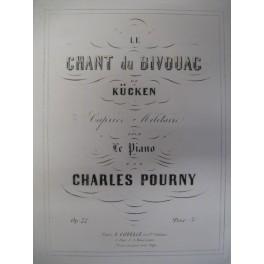 POURNY Charles Le Chant du Bivouac