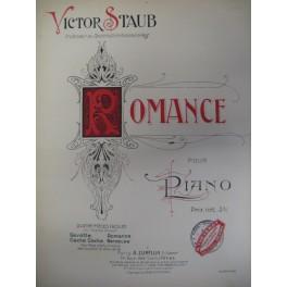 STAUB Victor Romance