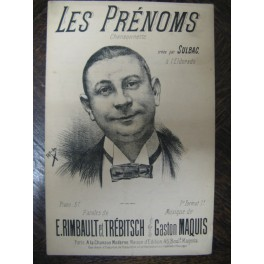 MAQUIS Gaston Les Prénoms