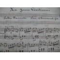 CHAUMONT Fils La Jeune Vénitienne Polka Piano XIXe
