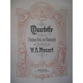 MOZART Wolfgang Amadeus Quatuors Intégrale