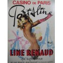 Casino de Paris Parisline Line Renaud Programme 1976