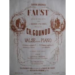 GOUNOD Charles Valse Faust