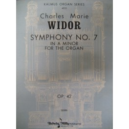 WIDOR Charles Marie Symphonie op. 42 n° 7
