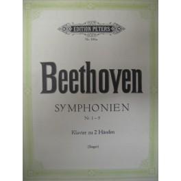 BEETHOVEN Ludwig Symphonien 1 à 5