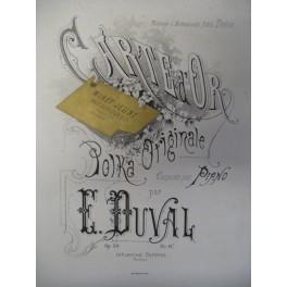 DUVAL E. Carte d'Or ca1870