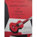 SAGRERAS Julio Second Lessons for Guitar Guitare 1975