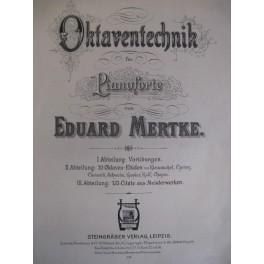 MERTKE Eduard Oktaventechnik für Pianoforte