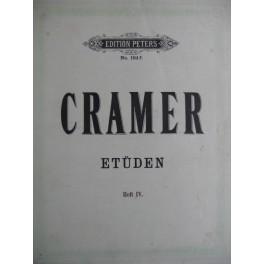Cramer J. B. Etudes Heft IV 64 à 84