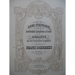 SCHUBERT Franz Hmoll Symphonie Orchestre