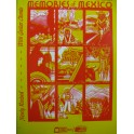 Memories of Mexico Album 15 pièces Chant Piano