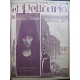 PADILLA José El Relicario Piano 1920