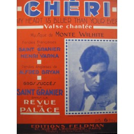 WILHITE Monte Chéri My Heart is bluer than your eyes Chant Piano 1930