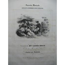 BRICE Laure Enfants dormez sur l'Avenir Chant Piano ca1830