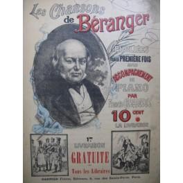 BÉRANGER CASADESUS Chansons 1ère Livraison