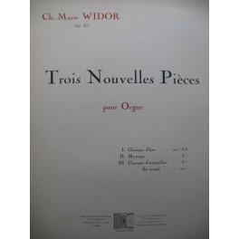WIDOR Ch. M. Mystique Orgue 1934