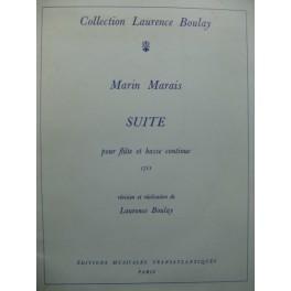 MARAIS Marin Suite Flûte Basse continue 1970