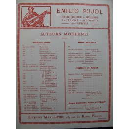 DE FALLA Manuel Polo Chant Guitare 1957