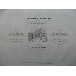 MUSARD Le Perruquier de la Régence 1er Quadrille Piano ca1840