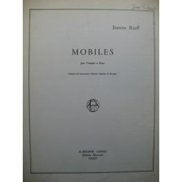RUEFF Jeanine Mobiles Trompette Piano 1967