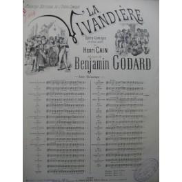 GODARD Benjamin La Vivandière No 11 Scène d'Amour Chant Piano 1895