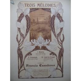 CASADESUS Francis Soleil de France Piano Chant