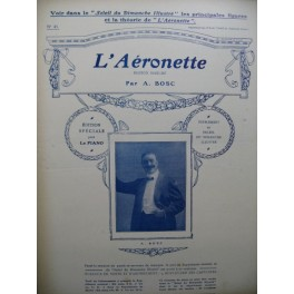 BOSC A. L'Aéronette Piano