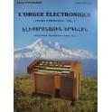 TAVADJIAN Léon L'orgue électronique Méthode Arménie 1988