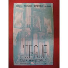 L'ORGUE Revue N° 200 Octobre Décembre 1986