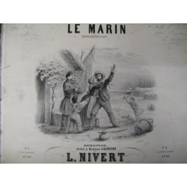 NIVERT L. Le Marin Quadrille Brillant ca 1845