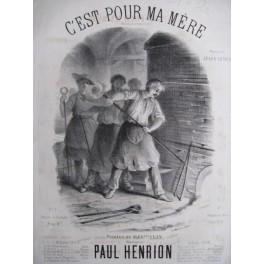 HENRION Paul C'est pour ma mère