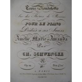 SCHWENCKE Charles Rondoletto 1828
