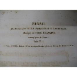 BLANGINI Félix Final de La Princesse de Cachemire ca1830