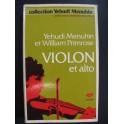MENUHIN et PRIMROSE Violon et Alto 1978