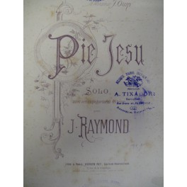 RAYMOND J. Pie Jesu