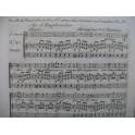 MÉHUL Air d'Euphrosine Feuille du Terpsichore Chant Harpe 1792