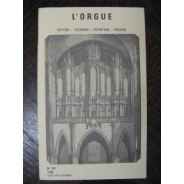 L'ORGUE Revue N° 207 Juillet Septembre 1988
