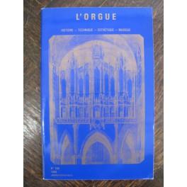 L'ORGUE Revue N° 209 Janvier Mars 1989