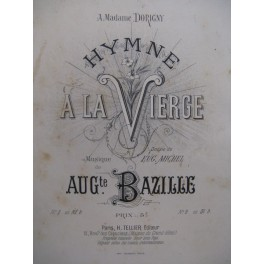 BAZILLE Auguste Hymne à la Vierge ca1890