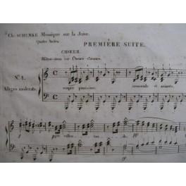 SCHUNKE Charles Mosaïque sur la Juive ca1835