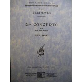 BEETHOVEN Ludwig van Concerto n° 2 op 19
