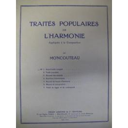 MONCOUTEAU M. Traité populaire de l'Harmonie