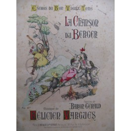 VARGUES Félicien La Chanson du Berger ca1890