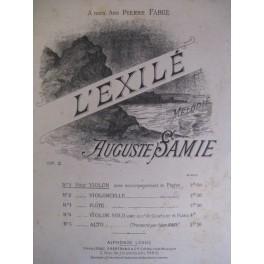 SAMIE Auguste L'exilé op 2