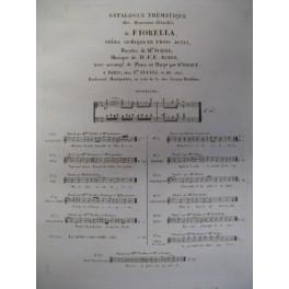 AUBER D. F. E. Fiorella n° 5 Barcarole ca1830