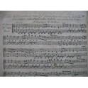 Feuille de Terpsichore 6e annee No 23 Guglielmi Harpe XVIIIe