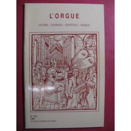 L'ORGUE Revue N° 216 Octobre Décembre 1990